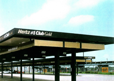 Hertz car rental design