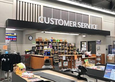 grocery store design/build service